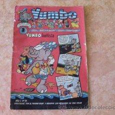 Tebeos: YUMBO,AÑO 1, Nº 31,EDITORIAL CLIPER,AÑOS 50. Lote 28203549