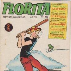 Tebeos: FLORITA Nº 319. CLIPER 1949.. Lote 28249585