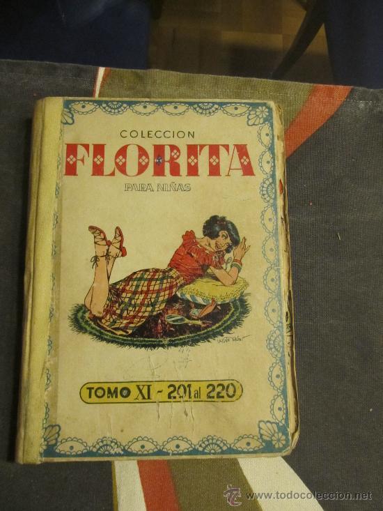 M69 TOMO DE FLORITA DE EDITORIAL CLIPER DEL NUMERO 201 AL 220 VER DESCRIPCION (Tebeos y Comics - Cliper - Florita)