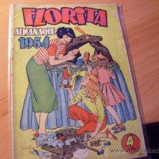 Tebeos: FLORITA ALMANAQUE 1954 ( ED. CLIPER ) (FLO1). Lote 28355592