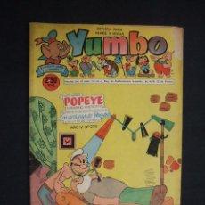 Tebeos: YUMBO - Nº 236 - EDICIONES CLIPER - . Lote 28506360
