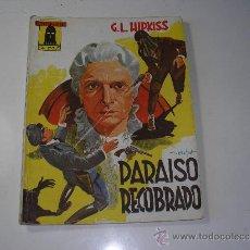 Tebeos: EL ENCAPUCHADO Nº 42. PARAISO RECOBRADO, CLIPER 1946. Lote 28595022
