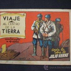 Tebeos: VIAJE AL CENTRO DE LA TIERRA SEGUN LA OBRA DE JULIO VERNE - PRIMERA PARTE - EDICIONES CLIPER 1942 -. Lote 28685043