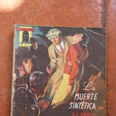 Tebeos: EL ENCAPUCHADO Nº 26 LA MUERTE SINTETICA: G.L. HIPKISS EDICIONES CLIPER. Lote 28697439