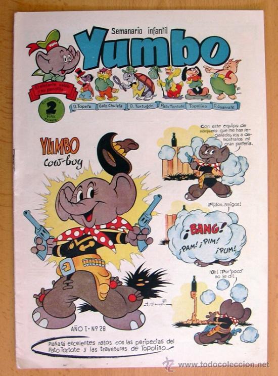 YUMBO Nº 28 - EDICIONES CLIPER 1953 (Tebeos y Comics - Cliper - Yumbo)