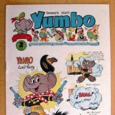 Tebeos: YUMBO Nº 28 - EDICIONES CLIPER 1953. Lote 28845500