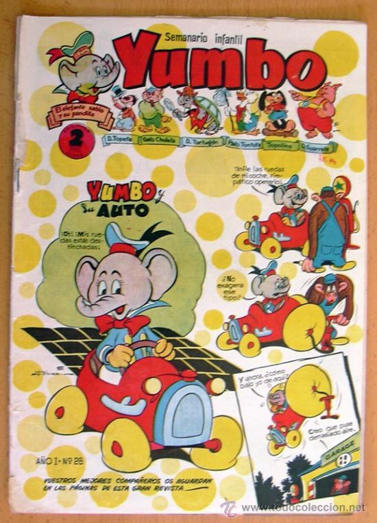 YUMBO Nº 26 - EDICIONES CLIPER 1953 (Tebeos y Comics - Cliper - Yumbo)