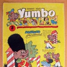 Tebeos: YUMBO Nº 27 - EDICIONES CLIPER 1953. Lote 28845582