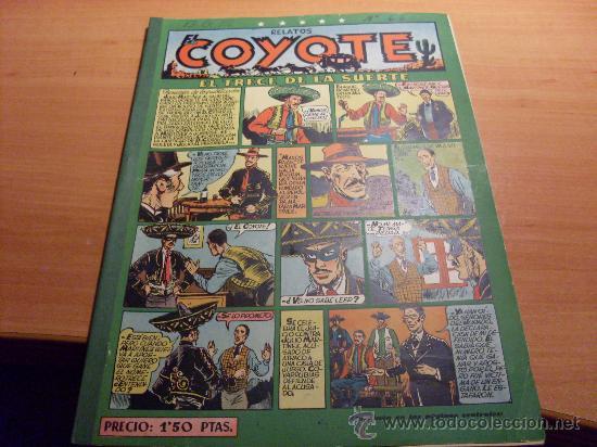 EL COYOTE Nº 65 ( ED. CLIPER ) (COY ) (Tebeos y Comics - Cliper - El Coyote)