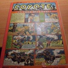 Tebeos: EL COYOTE Nº 56 LA FUGA DEL COYOTE ( ED. CLIPER ) (COY ). Lote 29155829