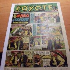 Tebeos: EL COYOTE Nº 9 UN AVISO DEL COYOTE (ED. CLIPER) (COY). Lote 29180766