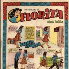 Tebeos: HISTORIETAS DE FLORITA Nº 36 - EDICIONES CLIPER - ORIGINAL, NO FACSIMIL. Lote 29618141