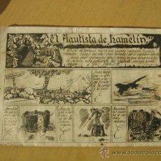 Tebeos: CUADERNOS SELECTOS Nº 4 EL FLAUTISTA DE HAMELIN DE CLIPER 1942. Lote 137162574