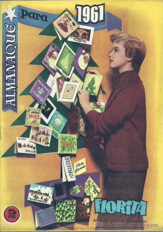 FLORITA ALMANAQUE 1961 (Tebeos y Comics - Cliper - Florita)