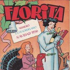 Tebeos: FLORITA NUMERO EXTRAORDINARIO NAVIDAD 1956. Lote 31183343