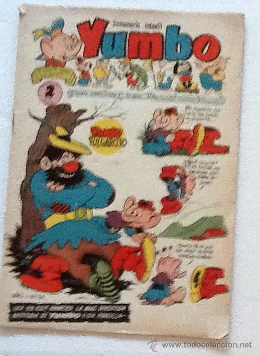 YUMBO SEMANARIO INFANTIL NUMERO 34 (Tebeos y Comics - Cliper - Yumbo)
