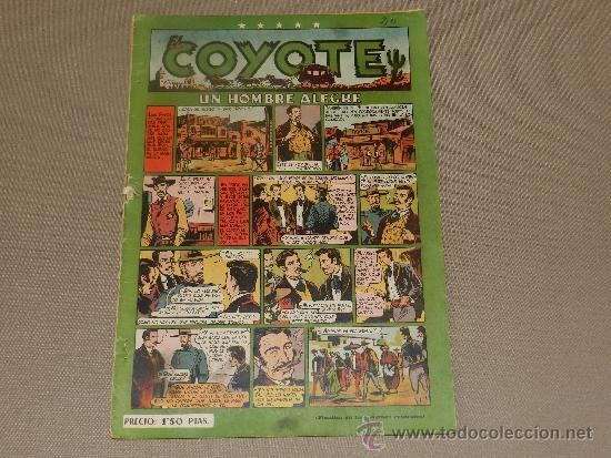 (M-10) EL COYOTE NUM. 20 - EDT CLIPER, ABUJERITOS EN EL LOMO Y 4 CM DE LOMO ABIERTO (Tebeos y Comics - Cliper - El Coyote)