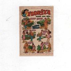 Tebeos: (M-ALB2) FLORITA - CARTELITO ANUNCIADOR DE LA SALIDA DE LA REVISTA, 13 X 9 CM, . Lote 31783343