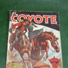 Tebeos: EL COYOTE N.22 AL SERVICIO DEL COYOTE, DE J.MALLORQUI. Lote 32075884
