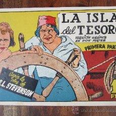 Tebeos: LA ISLA DEL TESORO - PRIMERA PARTE , R.L. STEVENSON , EDICIONES CISNE,. Lote 32227731