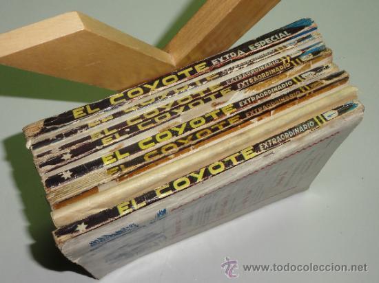 Tebeos: LOTE EL COYOTE, 61 NÚMEROS MÁS 7 EXTRAORDINARIOS Y EXTRA ESPECIAL - EDICIONES CLIPER. AÑOS 40 - Foto 4 - 32613455