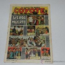 Tebeos: (M-10) EL COYOTE NUM 8 , ORIGINAL, EDC CLIPER, LOMO CON ROTURITAS Y ABUJERITOS. Lote 32723632
