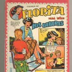 Tebeos: TEBEOS-COMICS GOYO - FLORITA - ED. CLIPER 1949 - Nº 108 - RARO *AA99. Lote 32791938