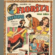 Tebeos: TEBEOS-COMICS GOYO - FLORITA - ED. CLIPER 1949 - Nº 107 - RARO *UU99. Lote 32791947