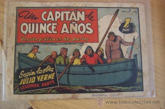CLIPER - CISNE. AVENTURAS CELEBRES Nº UN CAPITAN DE QUINCE AÑOS (Tebeos y Comics - Cliper - Otros)