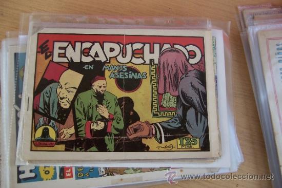 CLIPER EL ENCAPUCHADO Nº EN LAS MANOS ASESINAS DE ADRIANO BLASCO (Tebeos y Comics - Cliper - Otros)
