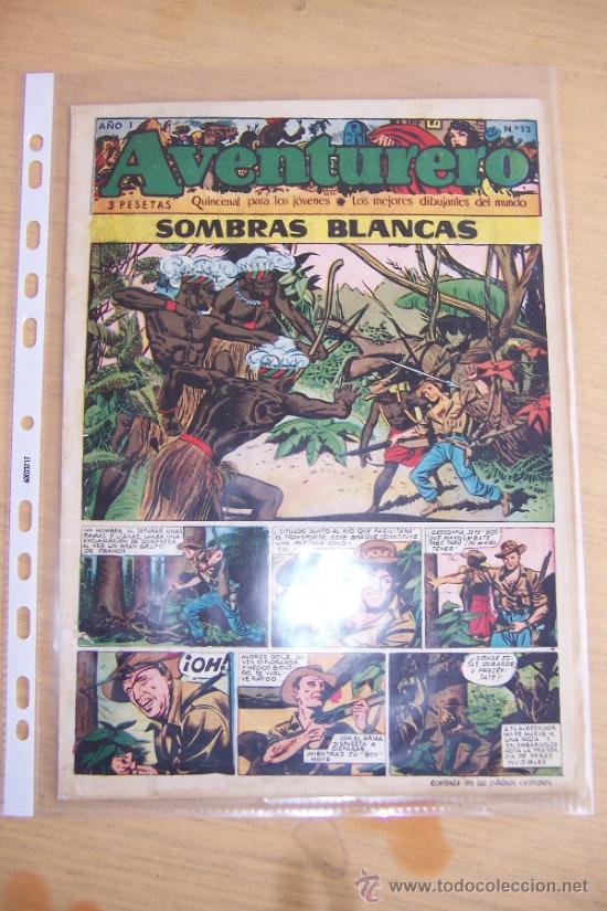 CLIPER AVENTURERO Nº 13 (Tebeos y Comics - Cliper - Aventurero)