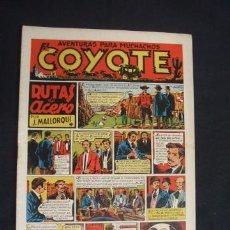 Tebeos: EL COYOTE - Nº 2 - RUTAS DE ACERO - EDICIONES CLIPER -. Lote 33091098