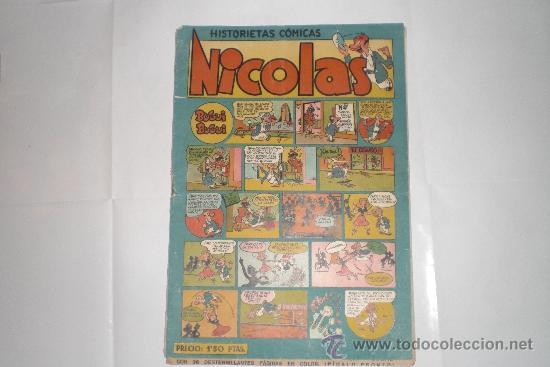 HISTORIETAS COMICAS NICOLAS: BUGUI BUGUI (Tebeos y Comics - Cliper - Nicolas)