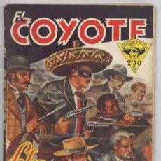Tebeos: EL COYOTE Nº 23 - LA LEY DE LOS VIGILANTES - J. MALLORQUI 1946. Lote 33637341