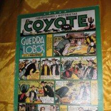 Tebeos: EL COYOTE. GUERRA DE LOBOS. J. MALLORQUÍ. EDICIONES CLIPER. Lote 34105846