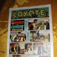 Tebeos: EL COYOTE. UN AVISO DEL COYOTE. J. MALLORQUÍ. EDICIONES CLIPER *. Lote 34105939
