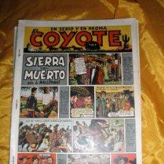Tebeos: EL COYOTE. SIERRA DEL MUERTO. POR J. MALLORQUÍ. EDICIONES CLIPER . ORIGINAL*. Lote 34330323