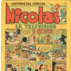 Tebeos: NICOLAS Nº 6 EDI. CLIPER-GERPLA 1948. Lote 35001322
