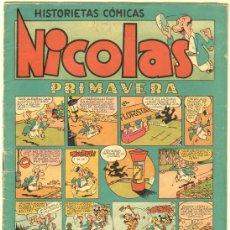 Tebeos: NICOLAS Nº 13 EDI. CLIPER-GERPLA 1948. Lote 35001369