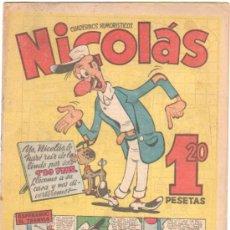 Tebeos: NICOLAS Nº 82 EDI. CLIPER-GERPLA 1948. Lote 35001417