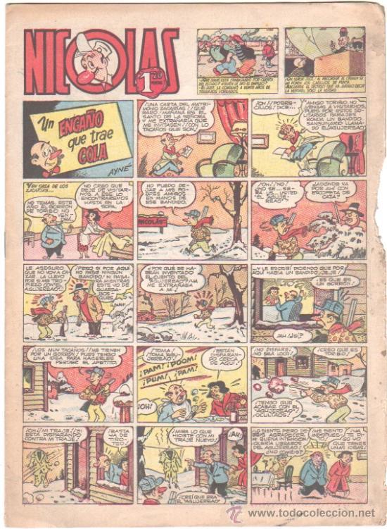 NICOLAS Nº 83 EDI. CLIPER-GERPLA 1948 (Tebeos y Comics - Cliper - Nicolas)