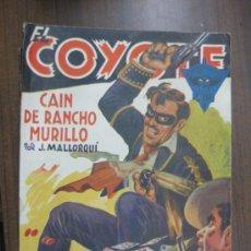 Tebeos: EL COYOTE -- CAIN DE RANCHO MURILLO-- POR J. MALLORQUI Nº89. Lote 35005965