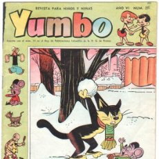 BDs: YUMBO Nº 291 EDI. CLIPER 1958, BILLY Y BUMBLE, CONEJITO ATÓMICO, NIC0TIN, CONCHITO BARBAFOJA ETC. Lote 35016934