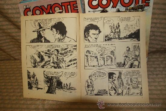 Tebeos: 2328- EL COYOTE. J. MALLORQUI. EDIT. FORUM. 1983. LOTE DE 23 NUMEROS. - Foto 2 - 35392439