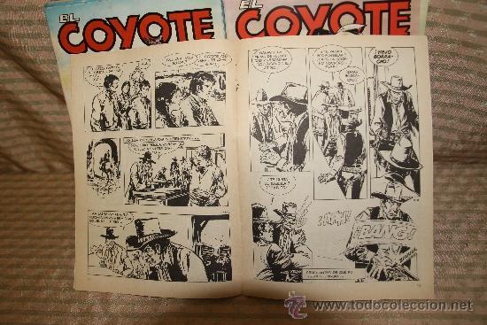 Tebeos: 2328- EL COYOTE. J. MALLORQUI. EDIT. FORUM. 1983. LOTE DE 23 NUMEROS. - Foto 4 - 35392439