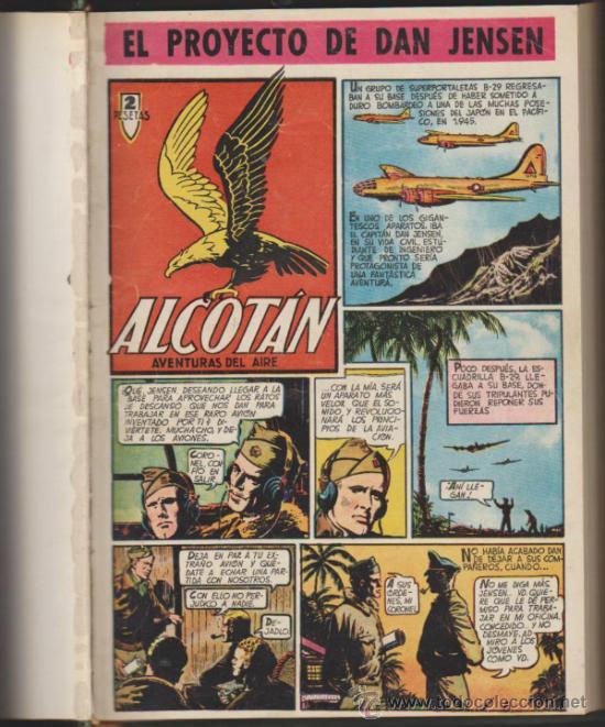 ALCOTÁN. CLIPER 1952. COMPLETA 12 EJEMPLARES ENCUADERNADOS EN UN TOMO DE LUJO. (Tebeos y Comics - Cliper - Otros)