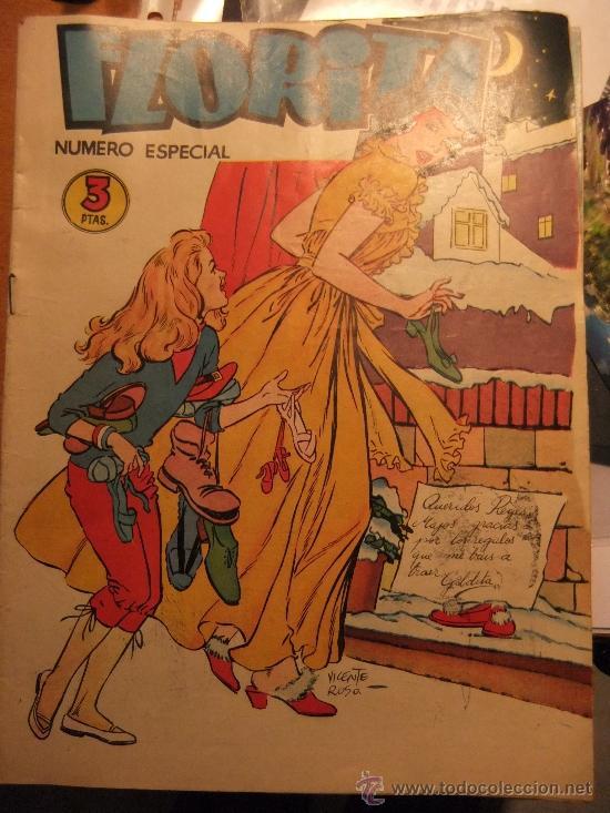 FLORITA NUMERO ESPECIAL (Tebeos y Comics - Cliper - Florita)
