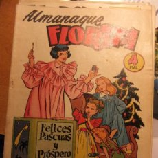 Tebeos: FLORITA ALMANAQUE 1955. Lote 35506215