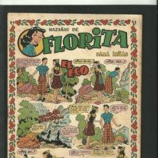 Tebeos: FLORITA Nº 8. CLIPER. ORIGINAL. Lote 35675078