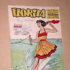 Tebeos: FLORITA Nº 348. CLIPER, 1956. MARGARITA WARD. RIPOLL G. BUXADE. MARGOT POR BIELSA. +++. Lote 36231869